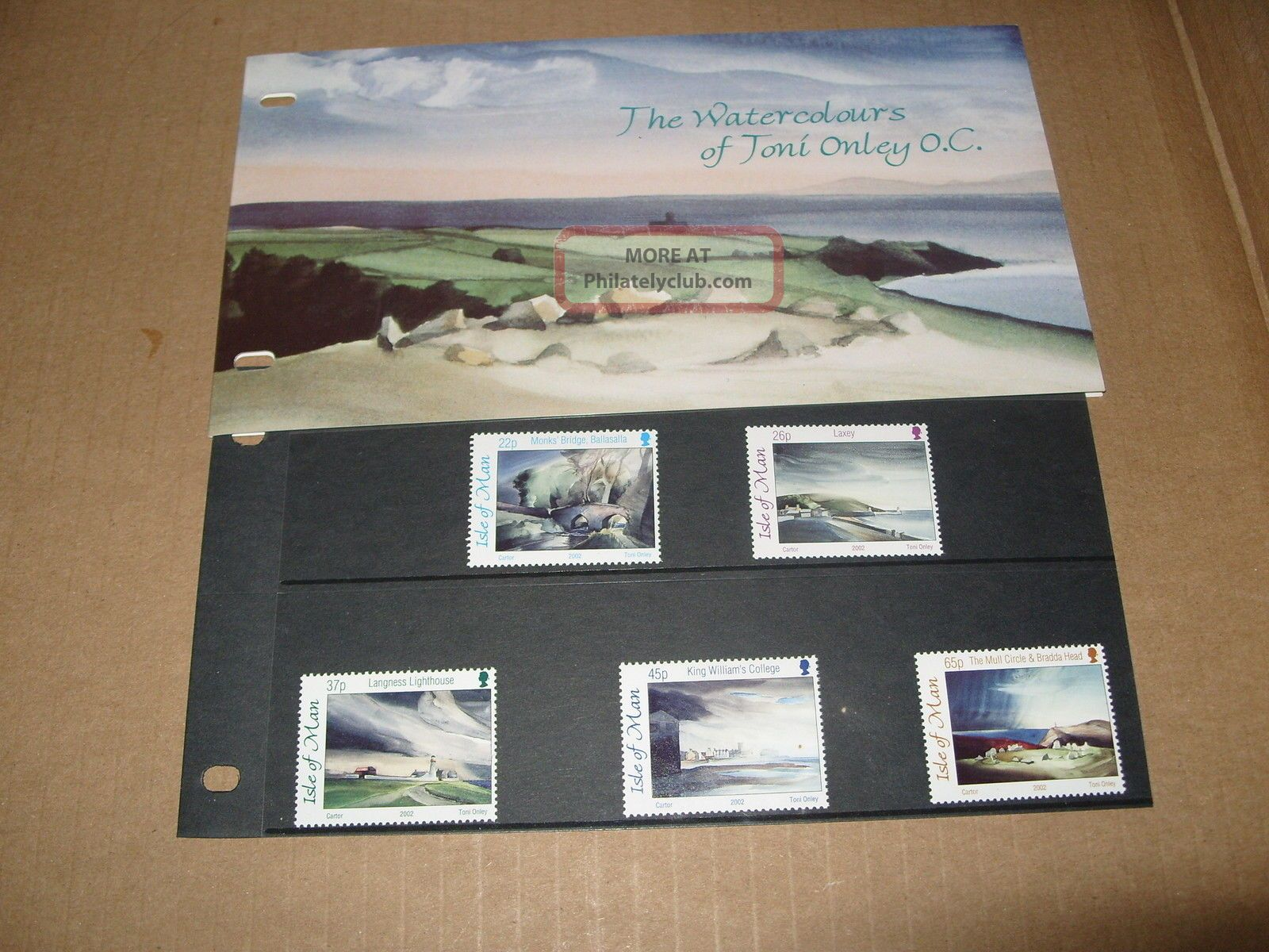 Isle Of Man Presentation Pack The Watercolours Of Tony Olney Regional Issues photo