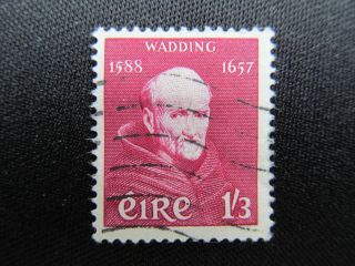 1957 Ireland Stamp Featuring Wadding,  164; Cv $12.  50 photo