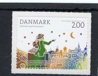 Hans Christian Anderson Fairy Tale The Shepherdess On 2012 Danish Stamp - photo