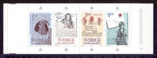 Sweden 1984 Stamp Booklet Stockholmia 86 Ii Um (nh) A photo