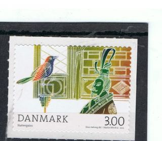 Hans Christian Anderson Fairy Tale The Nightingale On 2012 Danish Stamp - photo