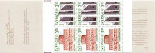 Sweden.  1987.  Europe Xvi.  Booklets.  Never Hinged.  Fa: 1446/47 H375.  Afa: 1 photo