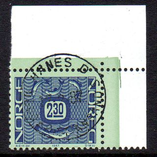 Norway.  1987.  Ornament I.  2,  30k.  Canceled: