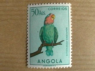 Portugal_portuguese Angola 1951 Aves Af 349_50a Keyvalue photo