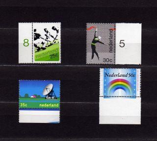 Netherlands 506 - 9 Hockey,  Gymnast,  Antenna,  Rainbow Measures photo
