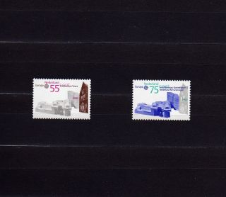 Netherlands 759 - 60 Europa Cept 1990 Postal History Post Offices photo