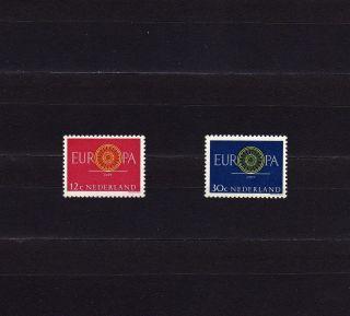 Netherlands 385 - 86 Europa Cept 1960 19 - Spoke Wheel photo