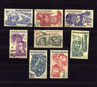 Czechoslovakia 1233 - 40 World ' S 1st 10 Astronauts photo