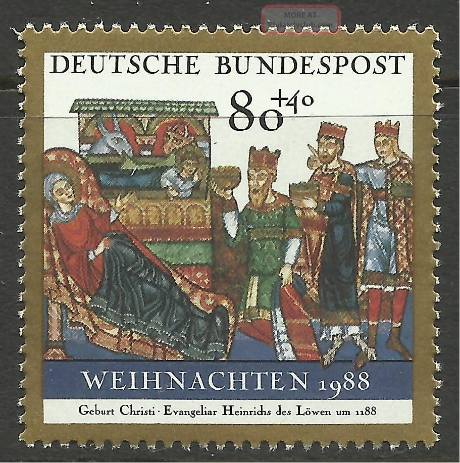 Germany.  1988.  Christmas Commemorative.  Sg: 2260. . Europe photo