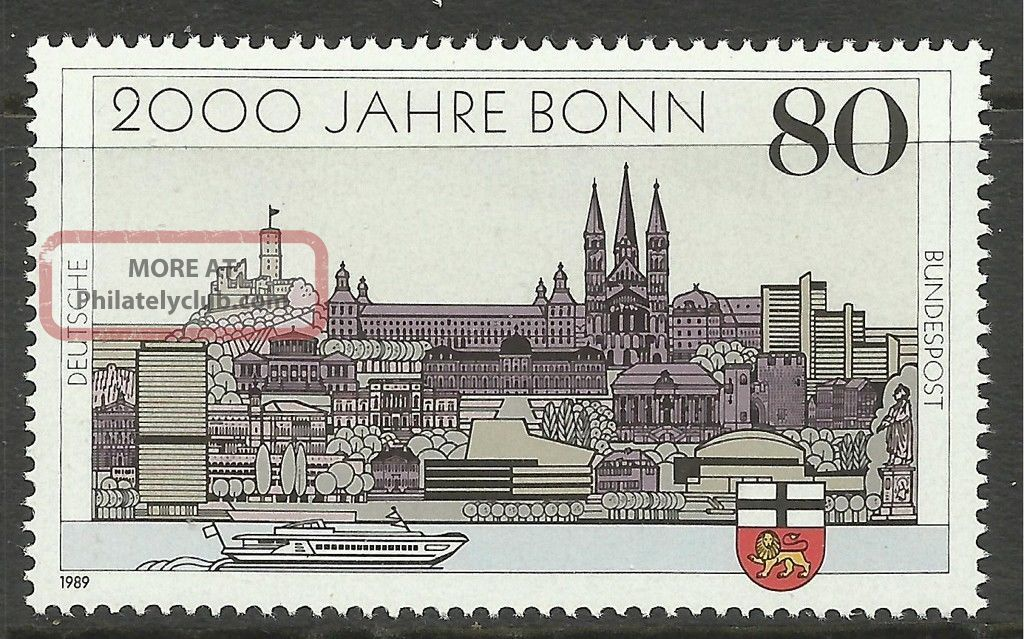 Germany.  1989.  2000th Anniverasry Of Bonn Commemorative.  Sg: 2262. . Europe photo
