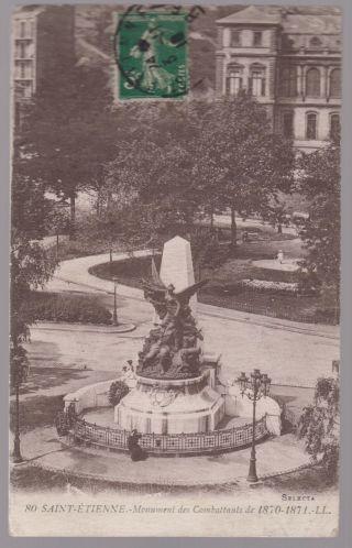 1916 France Rppc Postcard Cover To Usa To Australia Chile War Memorial Judaica photo
