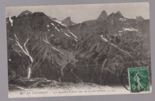 1916 France Rppc Postcard Cover To Usa To Australia And Chile Le Dauphne Judaica photo