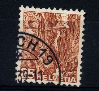B462 Switzerland 1936 Sg376b Yellow - Brown photo