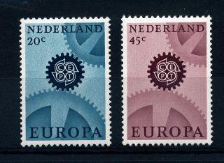 B473 Netherlands 1967 Sg1031 - 2 Europa photo