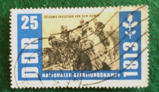 Germany.  Ddr.  1963.  150th Anniv.  Of German War Of Liberation. photo