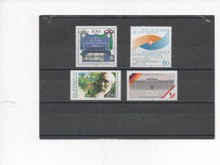 Germany (berlin) - 4 Assorted - 9n586 - 9n590 - - 1990 photo