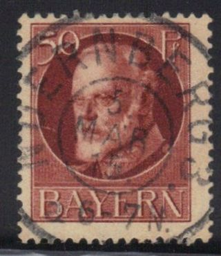 Bavaria,  Germany State Scott 106 Stamp See Photo Y photo
