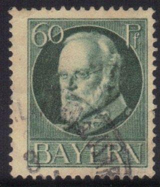 Bavaria,  Germany State Scott 107 Stamp See Photo photo
