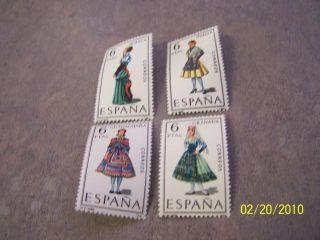 Spain.  1411 - 12 - 14 - 15.  Regional Costume. photo