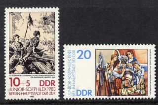 Germany Gdr 2359 - 60 Art,  Military photo