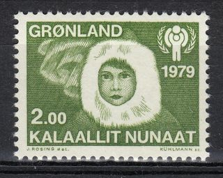 Greenland 1979 Sc 111 Mi 118 Eskimo Boy Year Of The Child photo