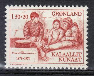 Greenland 1979 Sc B8 Mi 116 Knud Rasmussen Arctic Explorer & Ethnologist photo