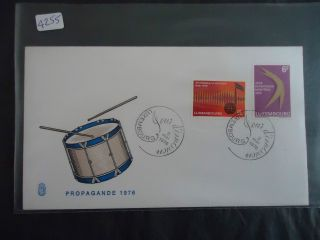 Luxembourg 1976 Propagande Cover photo