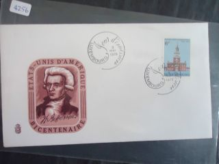 Luxembourg 1976 American Bicentennial Cover photo