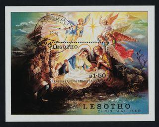 Lesotho 318 - Christmas,  Angels,  Nativity photo