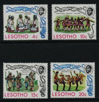 Lesotho 191 - 4 Traditional Dances photo