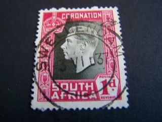 South Africa.  75a.  King George Vi. photo