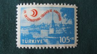 Turkish Stamp Tuberculosis Medical Convention photo