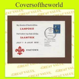 South Africa 1970 Scouts Camporee Pinetown,  Special Cancel Cover photo