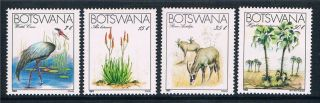Botswana 1983 Endangered Species Sg 541/4 photo