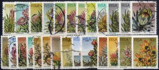 South Africa - Sg 414 - 434 Plus - 1977 - 82 - Definitive Issue - photo