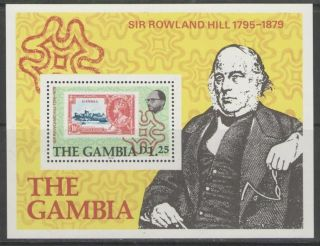 Gambia Sgms420 1979 Rowland Hill photo
