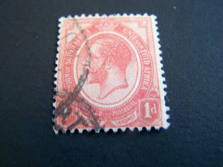 South Africa.  3.  King George V. photo