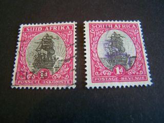 South Africa.  24 A,  B.  Jan Van Riebeek ' S Ship. photo