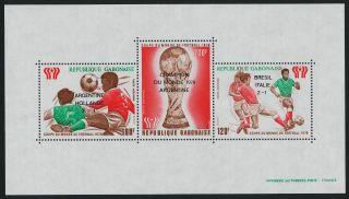 Gabon C212a World Cup Soccer,  Sports,  O/p Winners photo