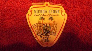 Postage Stamp Sierra Leone Rare Old Stamp photo