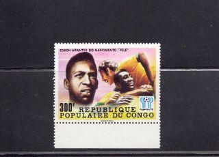 Congo 1978 World Cup Soccer Pele Scott 445 photo