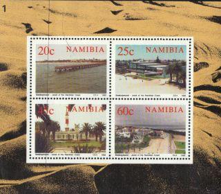 Namibia South Africa 1992 Swakopmund Mini Sheetlet Unmount Ref:b304 photo