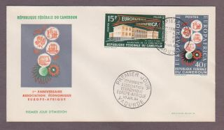 Cameroun 401 - 402 Europafrica Fdc photo