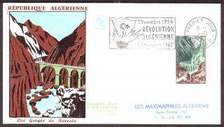 Algeria 1962 - Kerrrata Gorges