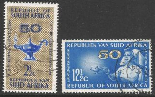 South Africa.  1964 50th Anniv.  Of South African Nursing Association. .  B2a65 photo