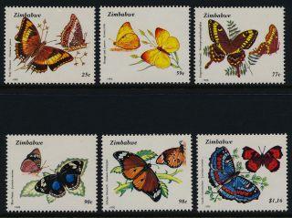 Zimbabwe 670 - 5 Butterfly photo