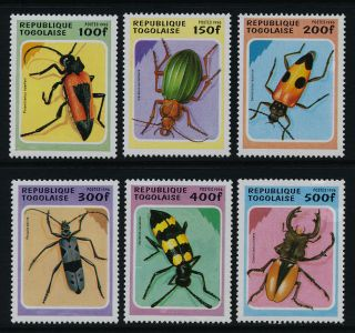 Togo 1706 - 11 Insects,  Beetles photo