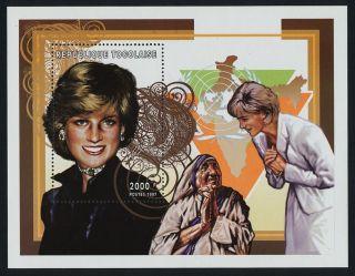Togo 1854i Princess Diana,  Mother Teresa photo