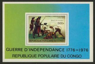 Congo Pr 395 American Revolution,  Military photo