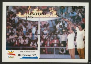 Lesotho 795 Olympic Games,  Barcelona ' 92 photo